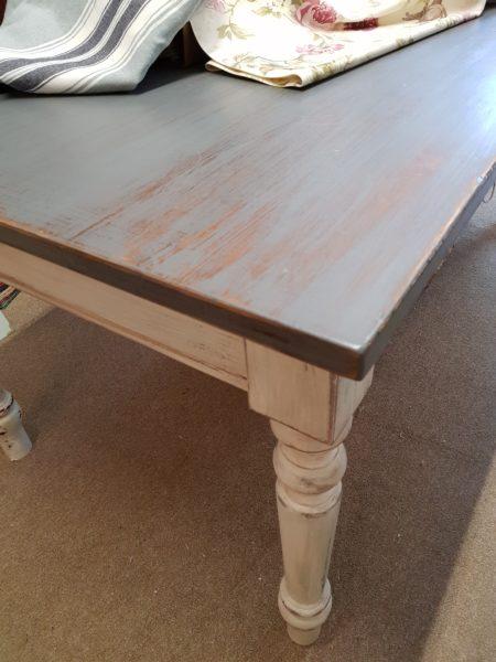 tavolo da pranzo legno shabby
