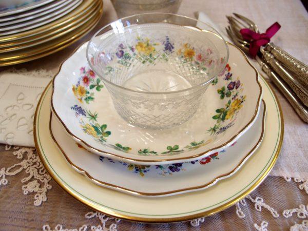 porcellane inglesi servizio piatti