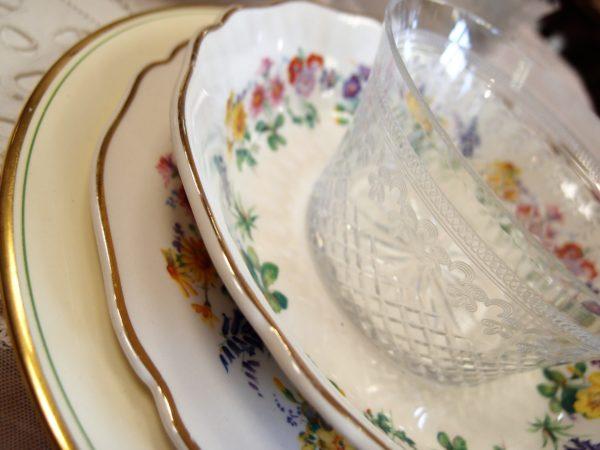 porcellana inglese servizio piatti