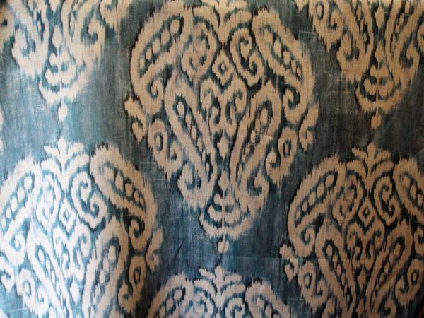 lino disegno batik per tappezzeria stock