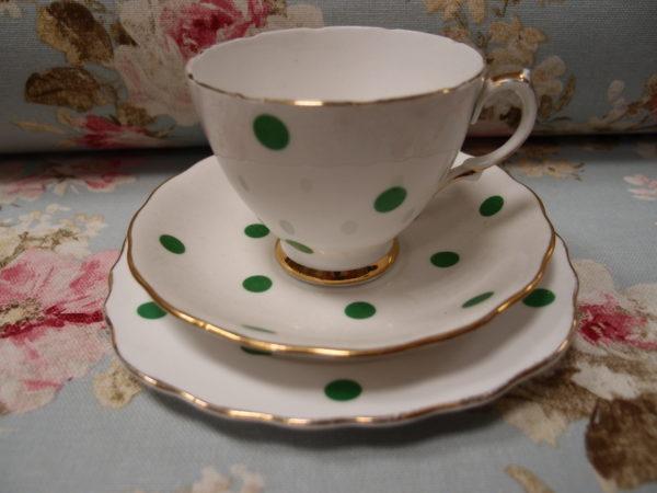 tazzine inglesi doppio piatto