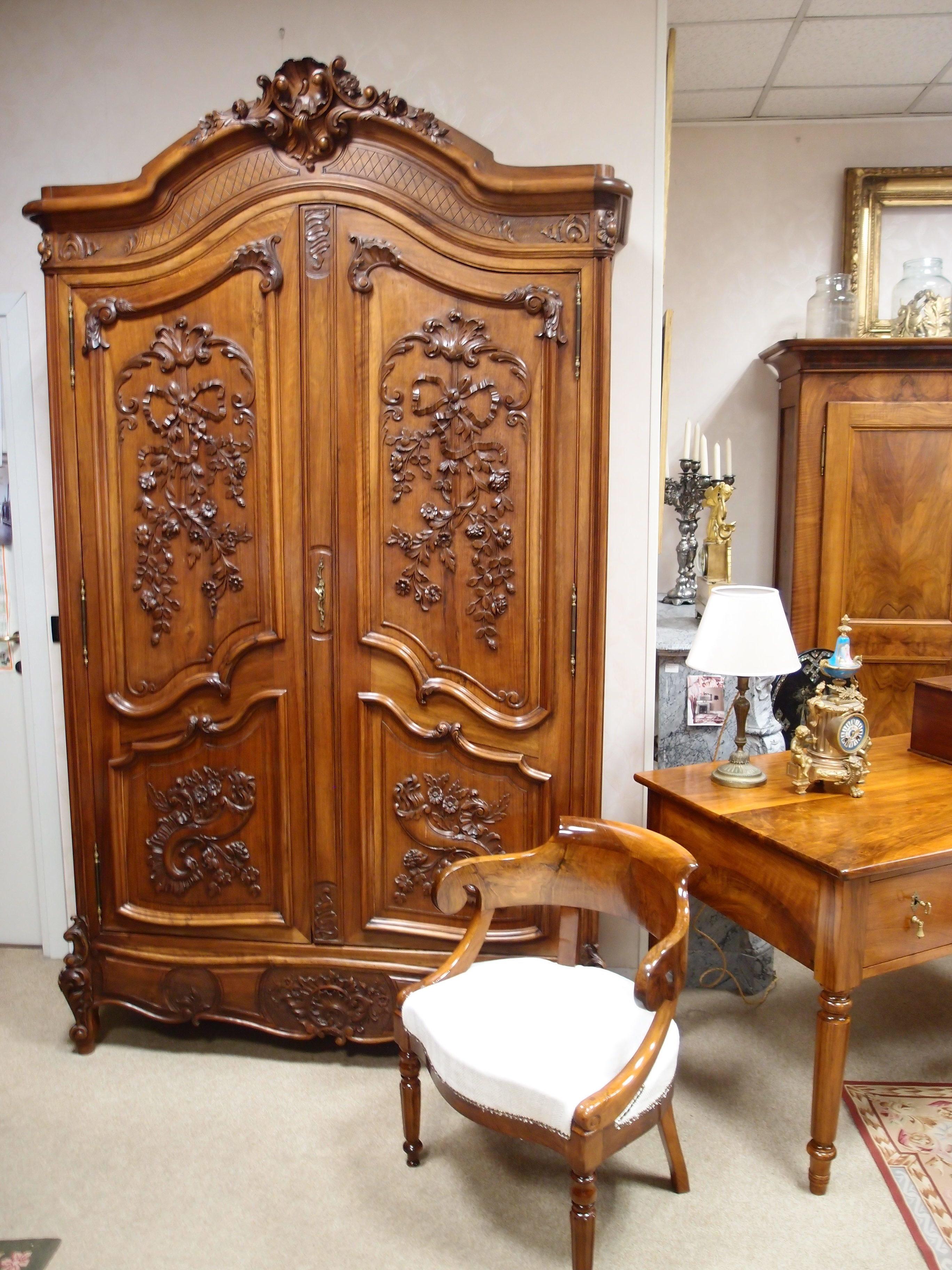 i mobili antichi francesi laccati e patinati cos