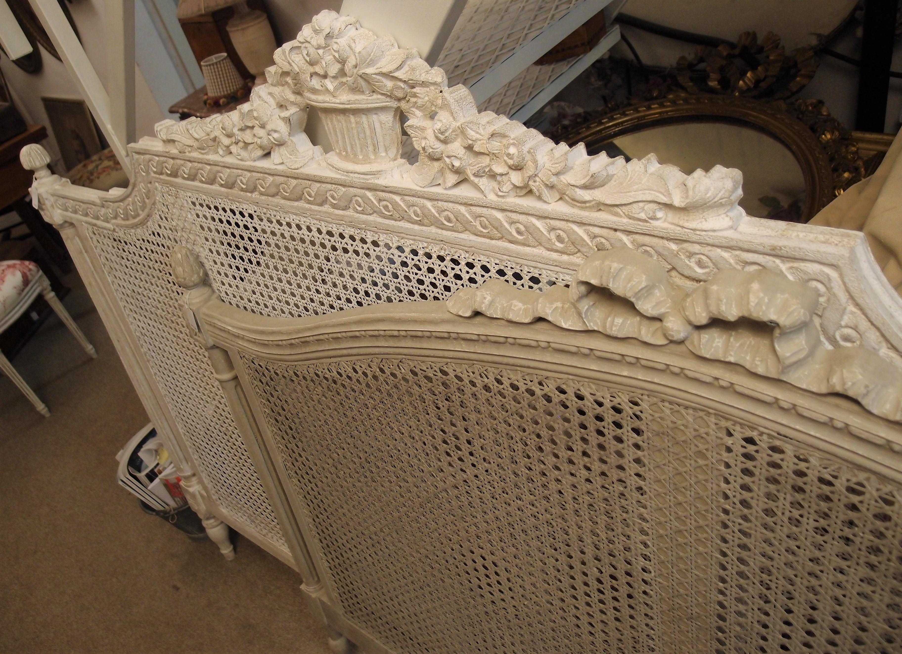 I mobili antichi francesi laccati e patinati cos freschi e chic antichit bellini - Letto di paglia ...