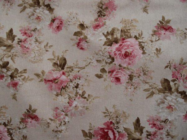 tessuto con rose