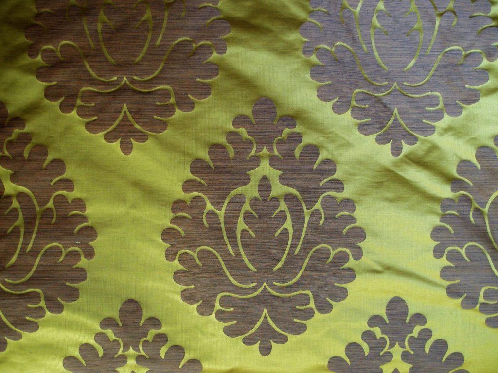tessuto di seta stock