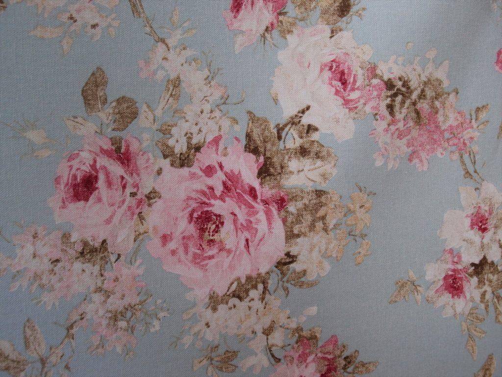 tessuto d'arredo con rose