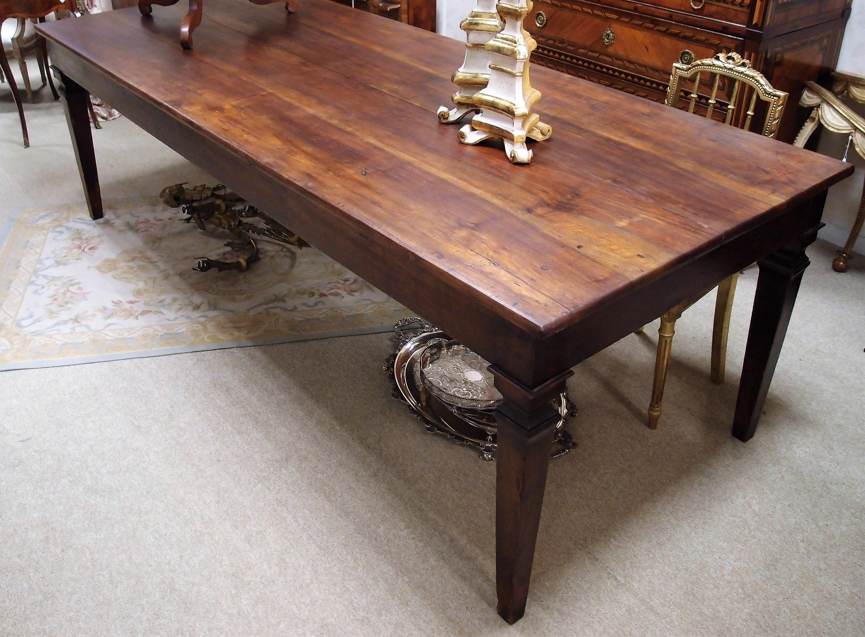 tavolo antico noce massello - Antichità Bellini