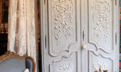 armadio antico francese in noce