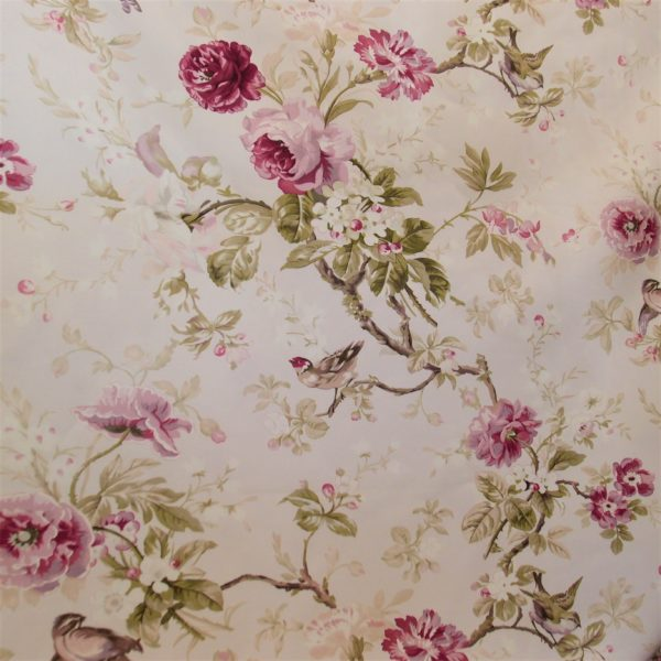 Classica stoffa inglese - Letto ovale trama ...