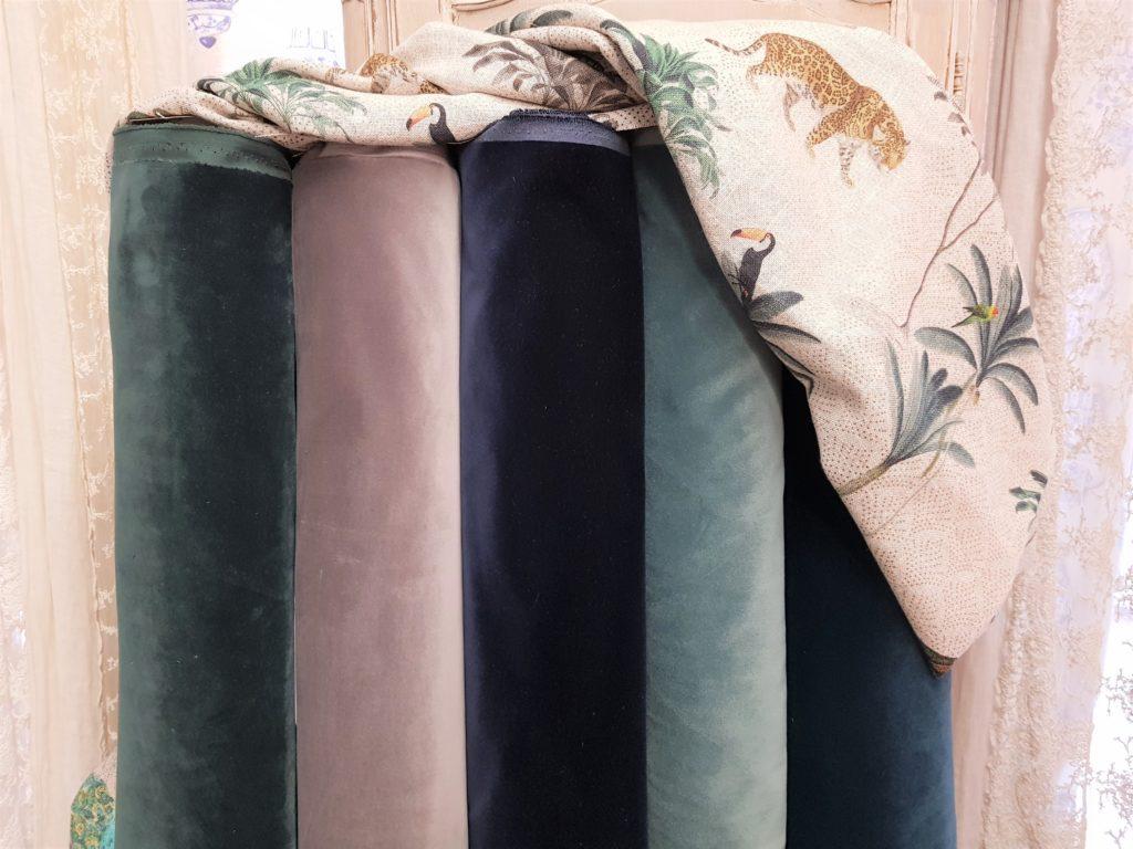 Tende In Velluto Di Seta atelier dei tessuti - antichità bellini